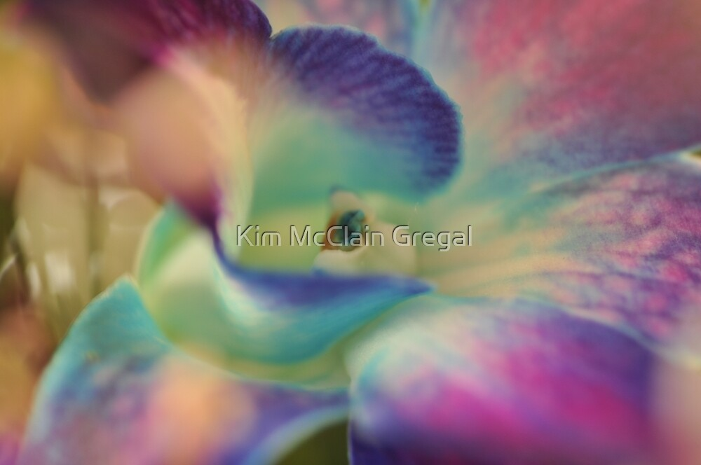 Purple Flower, As Is by Kim McClain Gregal