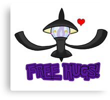 Free Lampent Hugs! Canvas Print