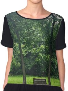 Lonely Bench Chiffon Top