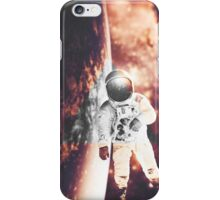 Floating in silence iPhone Case/Skin