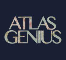 Atlas Genius Vintage Floral Print Kids Tee