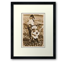 Country Girls Framed Print