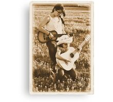 Country Girls Canvas Print