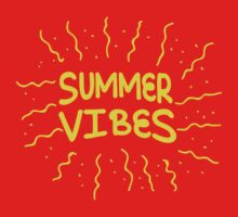 Summer vibes! Kids Tee