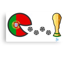 Portugal World Cup 2014 Canvas Print