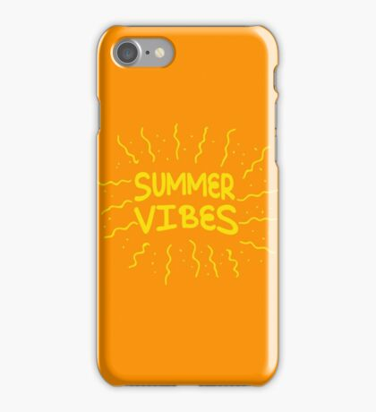 Summer vibes! iPhone Case/Skin