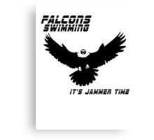 Falcons Swimming Tee 2014 Canvas Print