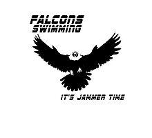 Falcons Swimming Tee 2014 Photographic Print