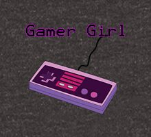 Gamer Girl NES Controller Unisex T-Shirt