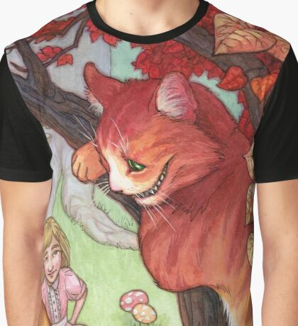 The Cheshire Cat Graphic T-Shirt