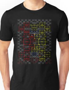 The Machine in Progress BED COVER version 5.0 Unisex T-Shirt