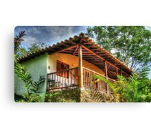 Old House in the Woods Canvas Print