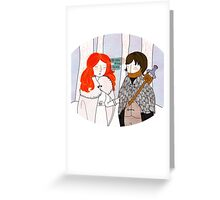 You Know Nothing Greeting Card