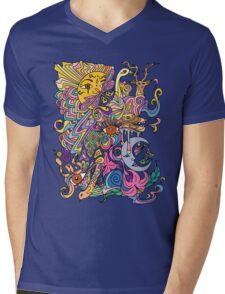 Mother Nature Mens V-Neck T-Shirt