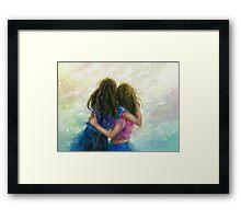 Big Sister Hug Framed Print