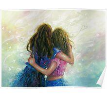 Big Sister Hug Poster