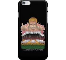 Master of puppets iPhone Case/Skin
