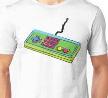 NES Controller Neon 80s Colors Unisex T-Shirt