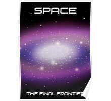 Space Frontier Poster