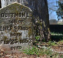 Quitmon L lies here by Scott Mitchell