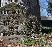 Quitmon L lies here by Scott Mitchell