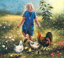Country Chicks by VickieWade