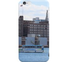 Baltimore waterfront iPhone Case/Skin