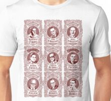 Tango Orchestra Leaders (in red) Unisex T-Shirt