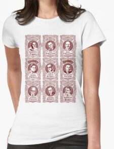 Tango Orchestra Leaders (in red) Womens Fitted T-Shirt
