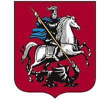 Coat of Arms of Moscow Photographic Print