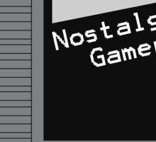 NES Cartridge - Nostalgic Gamer Sticker