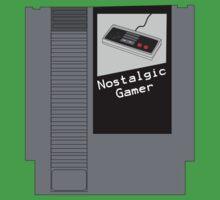 NES Cartridge - Nostalgic Gamer One Piece - Short Sleeve