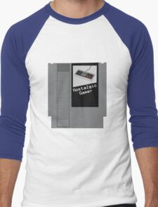 NES Cartridge - Nostalgic Gamer Men's Baseball ¾ T-Shirt