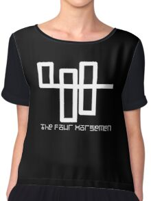 The Four Horseman (Now You See Me 2) Chiffon Top