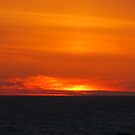 Sunset at Depoe Bay by AuntieBarbie