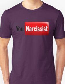 You Narcissist - Parody Logo T-Shirt
