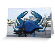Maryland Crab Greeting Card