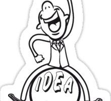 successful winner career ideas Sticker
