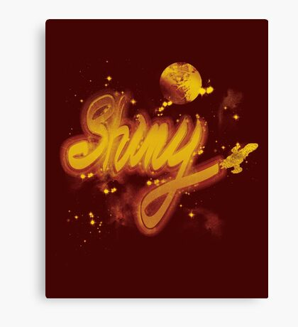 shiny 2 Canvas Print
