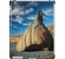 Frazer beach rock iPad Case/Skin