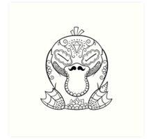 Psyduck de los Muertos | Pokemon & Day of The Dead Mashup Art Print