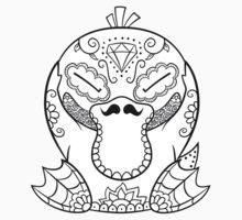 Psyduck de los Muertos | Pokemon & Day of The Dead Mashup T-Shirt