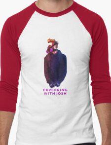 Exploring with Josh Men's Baseball ¾ T-Shirt