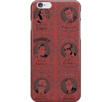 tango leaders in black and red iPhone Case/Skin