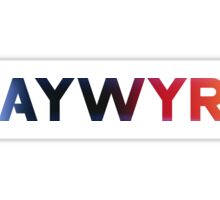 Haywyre Heat Sticker