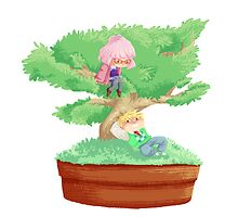 Bonsai Buddies by Catiepillar