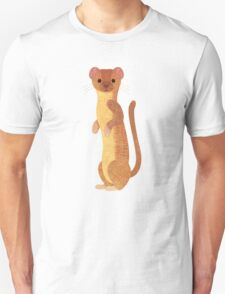 W is for Weasel Unisex T-Shirt