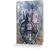 Ninjoid Warrior Greeting Card