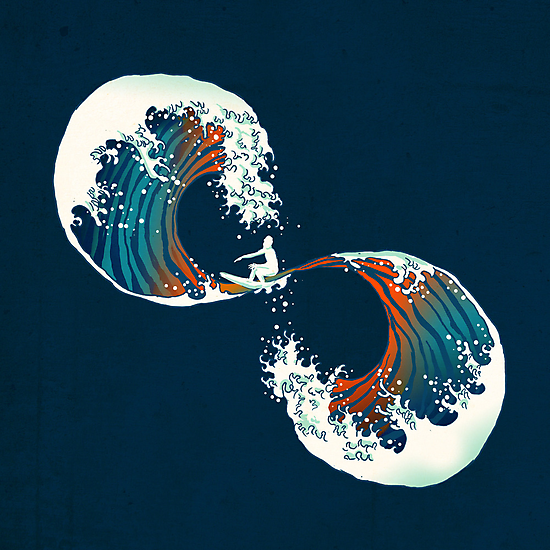 the wave is forever by Budi Satria Kwan