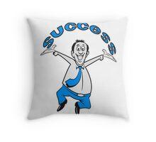 successful winner career joy Throw Pillow
